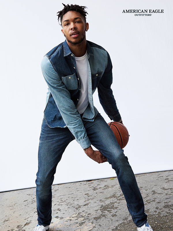 Brandon Ingram For American Eagle Fall 2017 Campaign