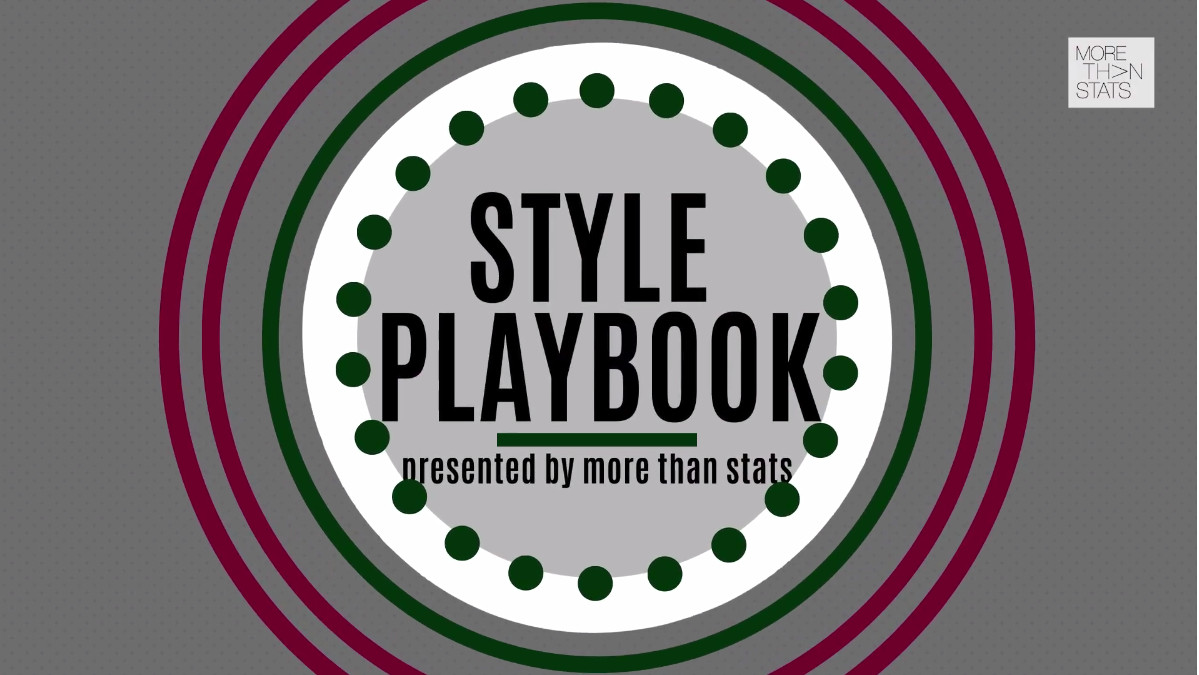 Ranking NFL's 16 Most Stylish Teams: Watch Week 1 Of Style Playbook.