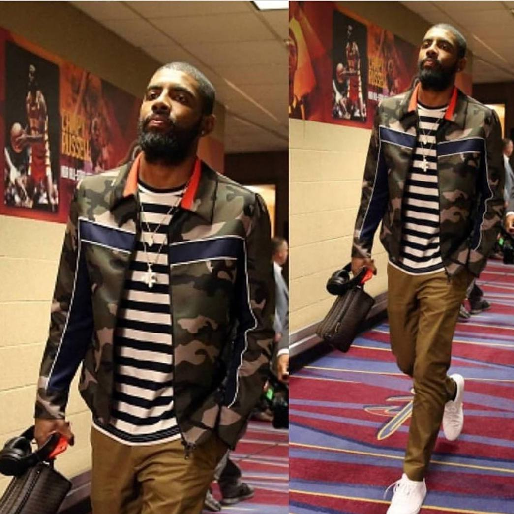 4 Camouflage Jackets Similar To Kyrie Irving's Valentino Bomber