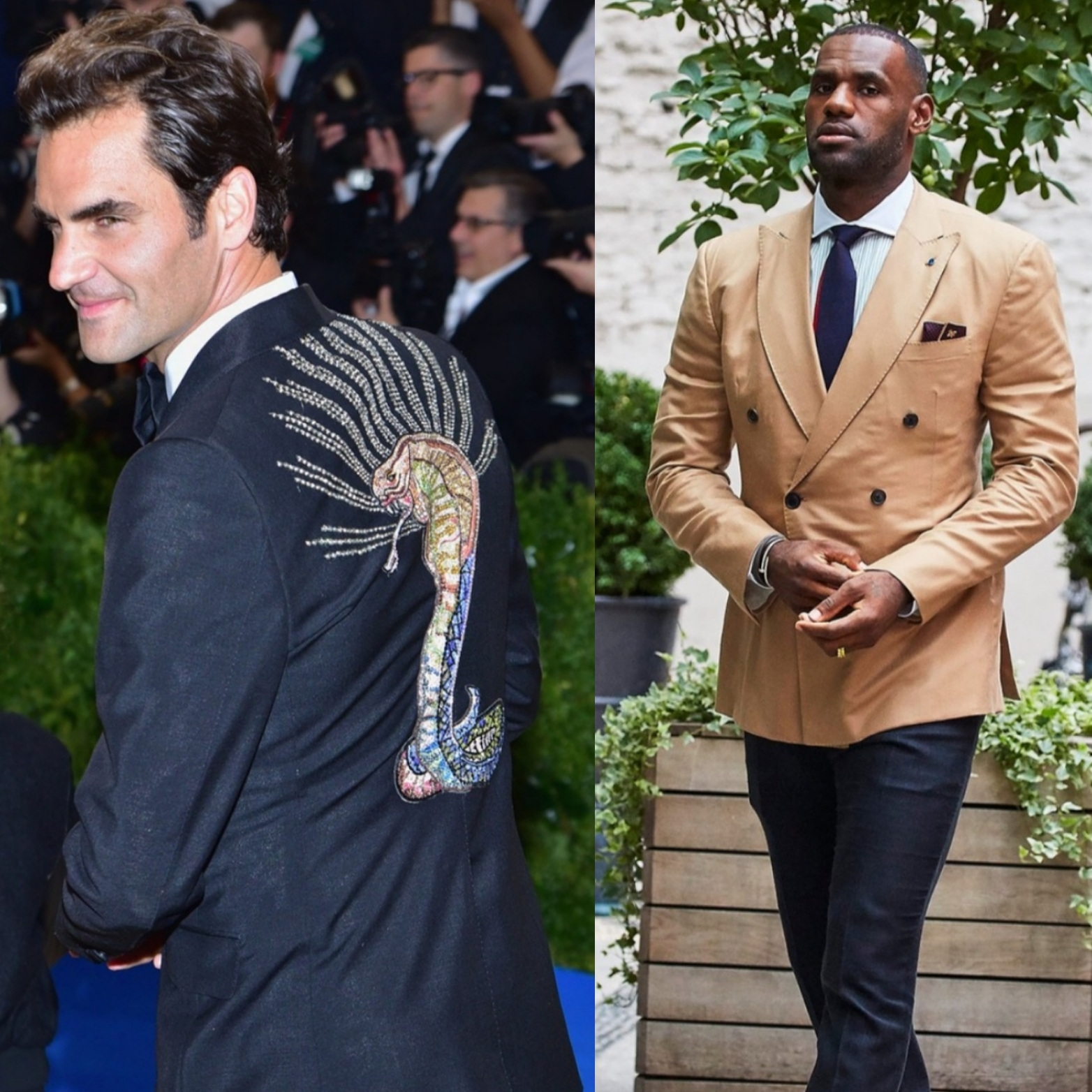 Roger Federer, Lebron James Named To Vanity Fair's 2017 International Best-Dressed List