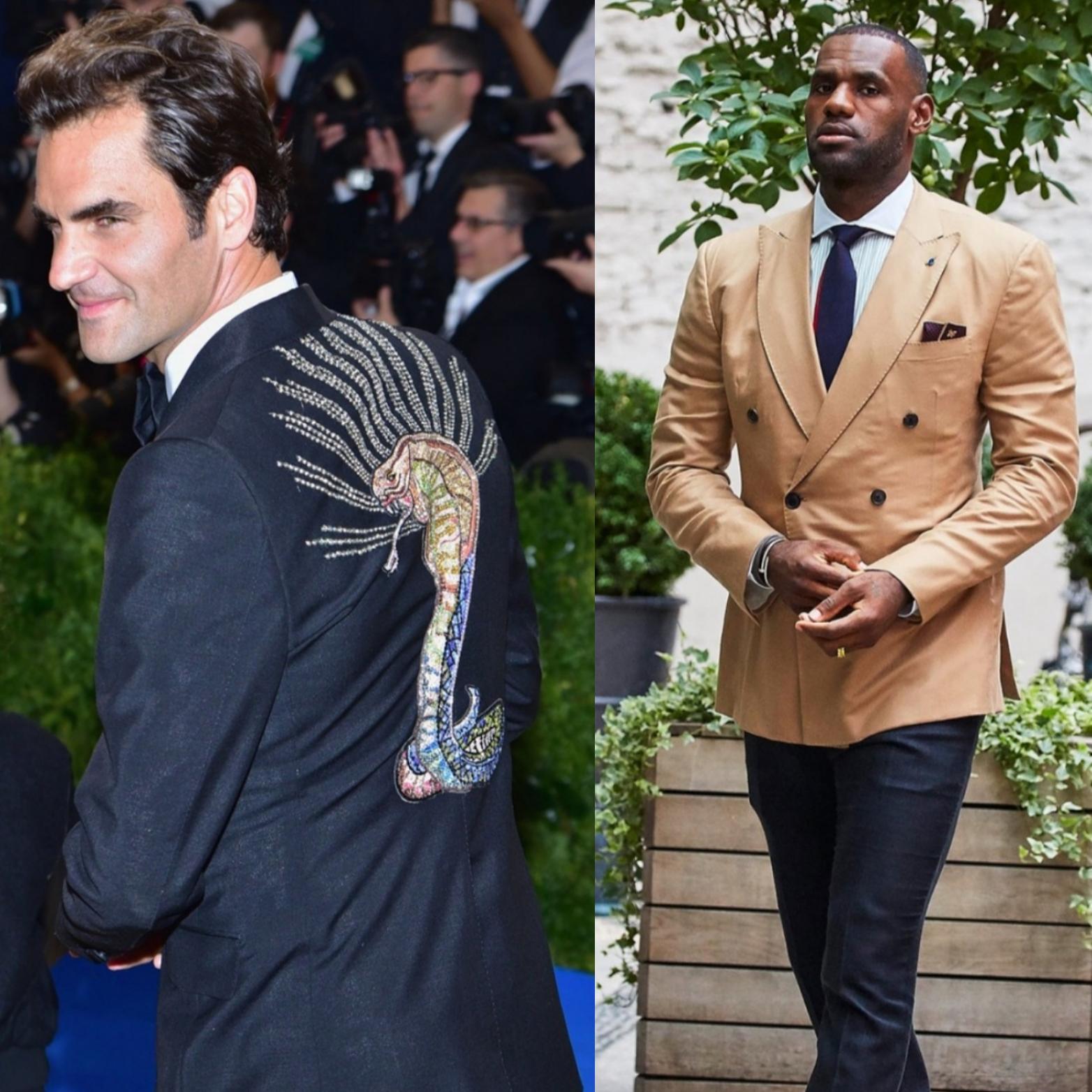 Roger Federer, Lebron James Named To Vanity Fair's 2017 International Best-Dressed List