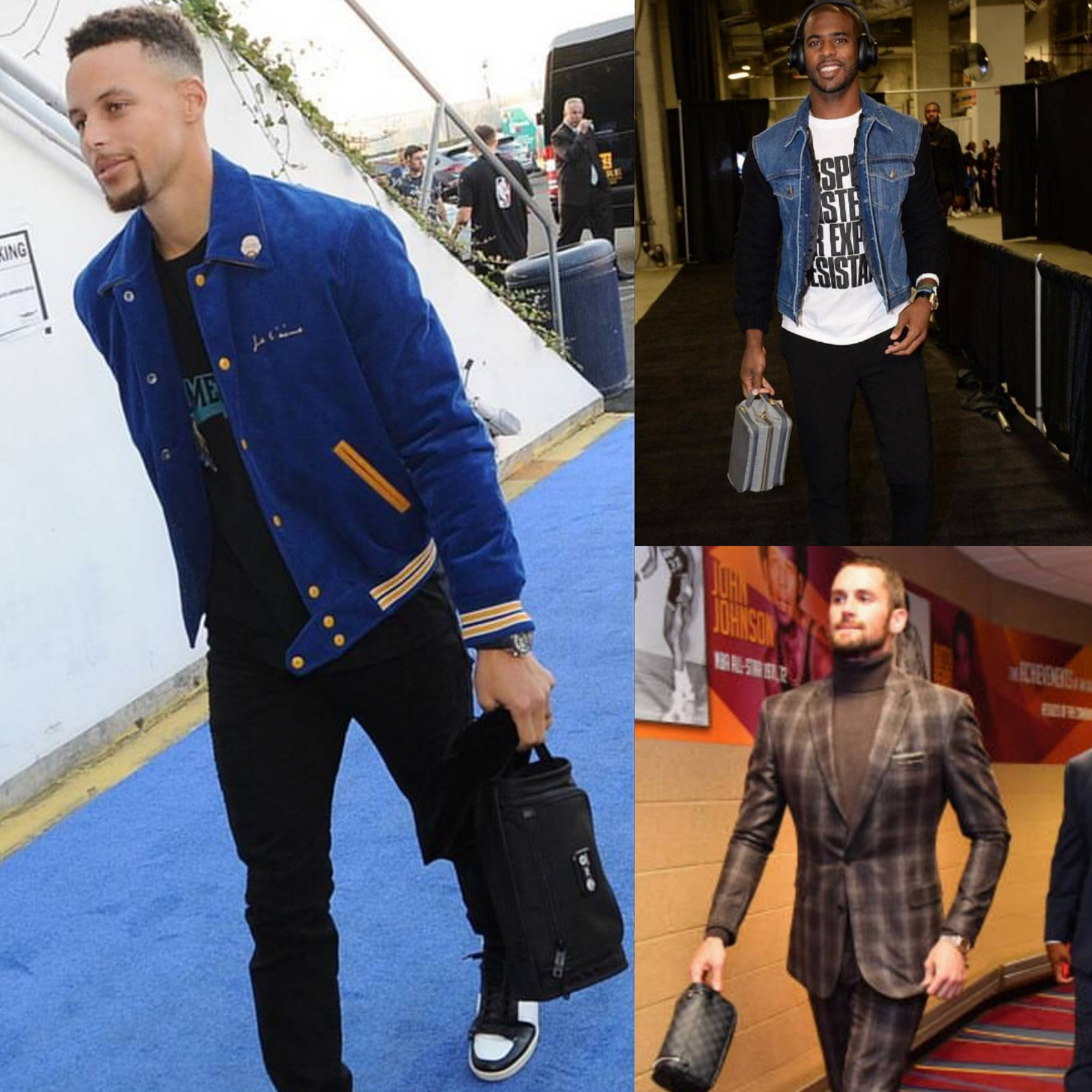 5 Dopp Kits (toiletry bags) Like Steph Curry, Chris Paul, And Kevin Love Sport For Game Day.