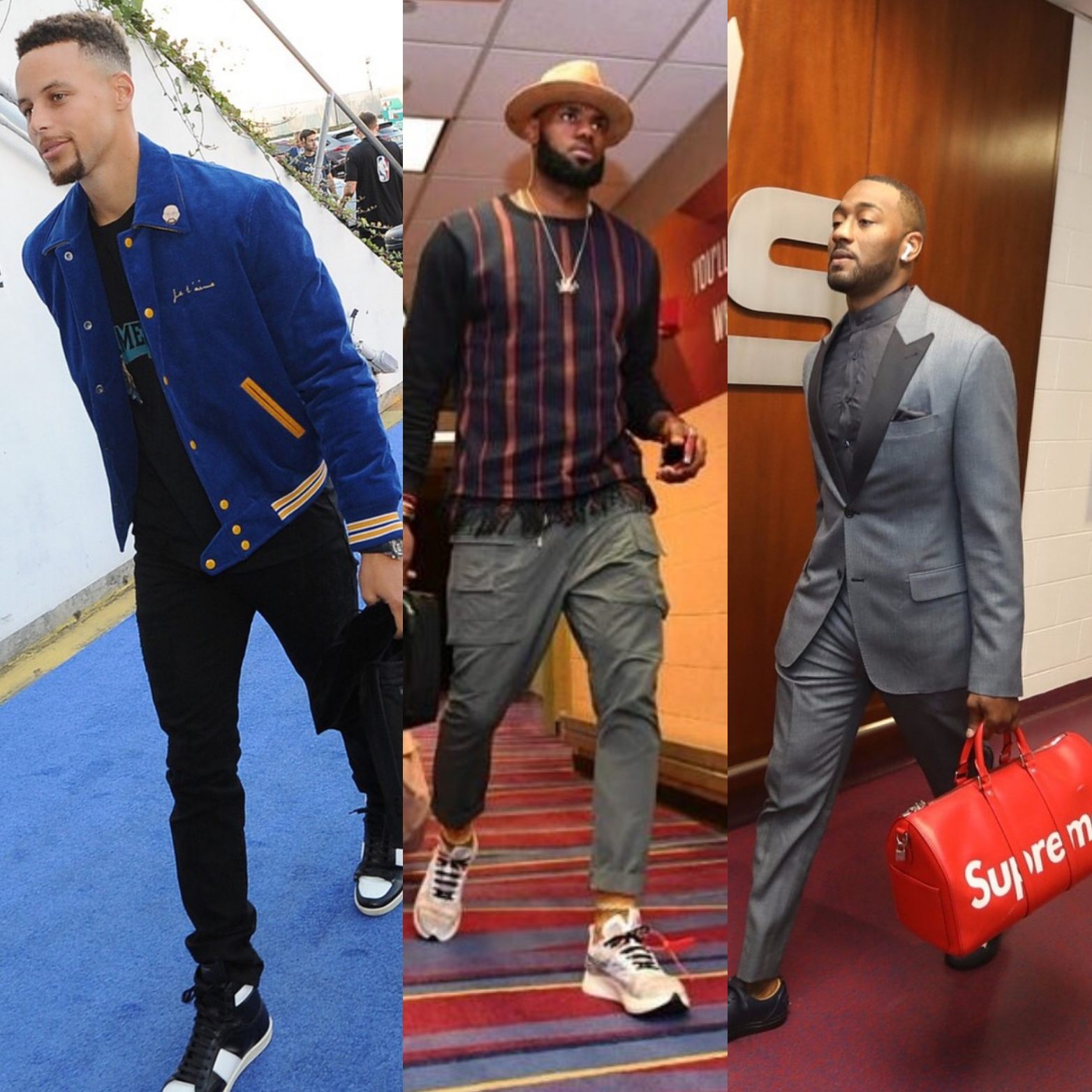 NBA Season Opener 2017 STYLE: Stephen Curry, Lebron James, John Wall, Lonzo Ball & More