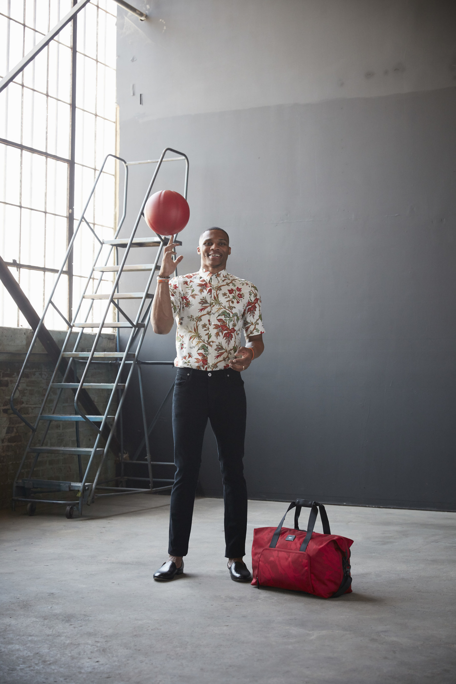 Russell Westbrook Collabs w/ TUMI on Travel Accessories Collection