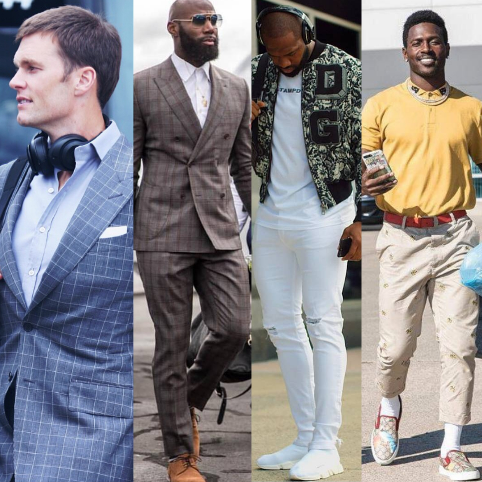 Tom Brady, Malcolm Jenkins, Marcedes Lewis & Antonio Brown leads our NFL Style rankings going Into week 7..STYLE PLAYBOOK
