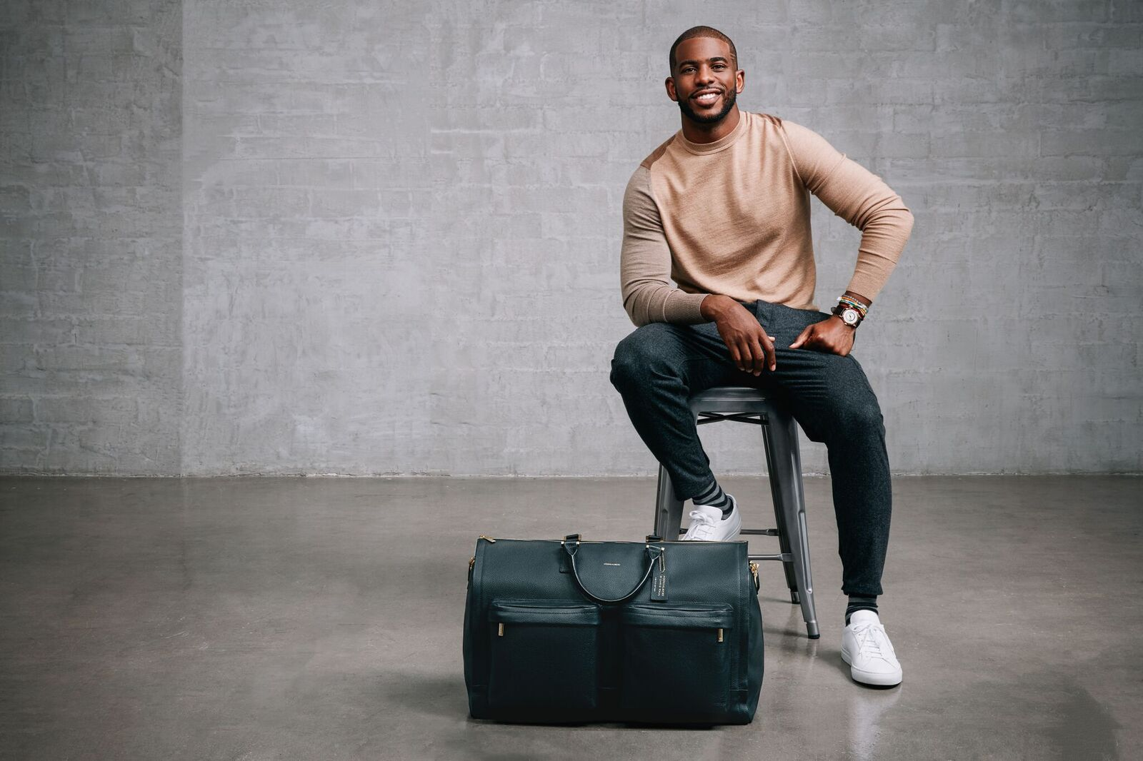 Chris Paul Teams Up w/ Hook & Albert On Men's Accessories Collection