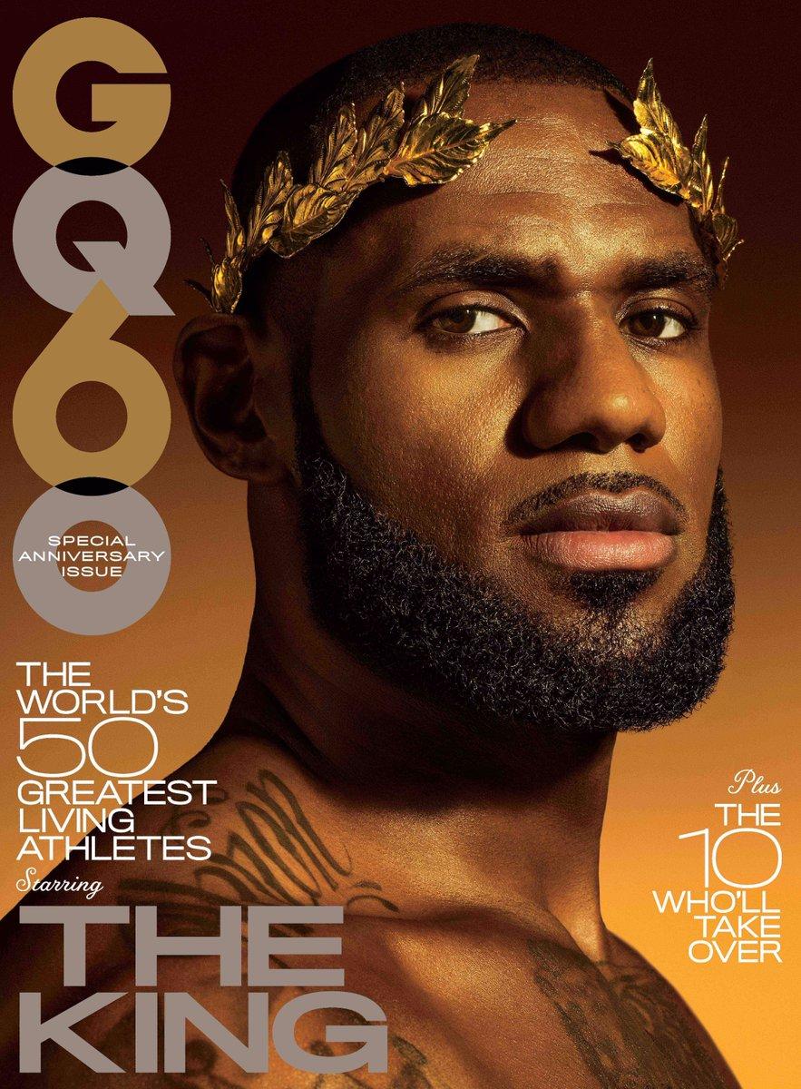 Lebron James For GQ Magazine November 2017