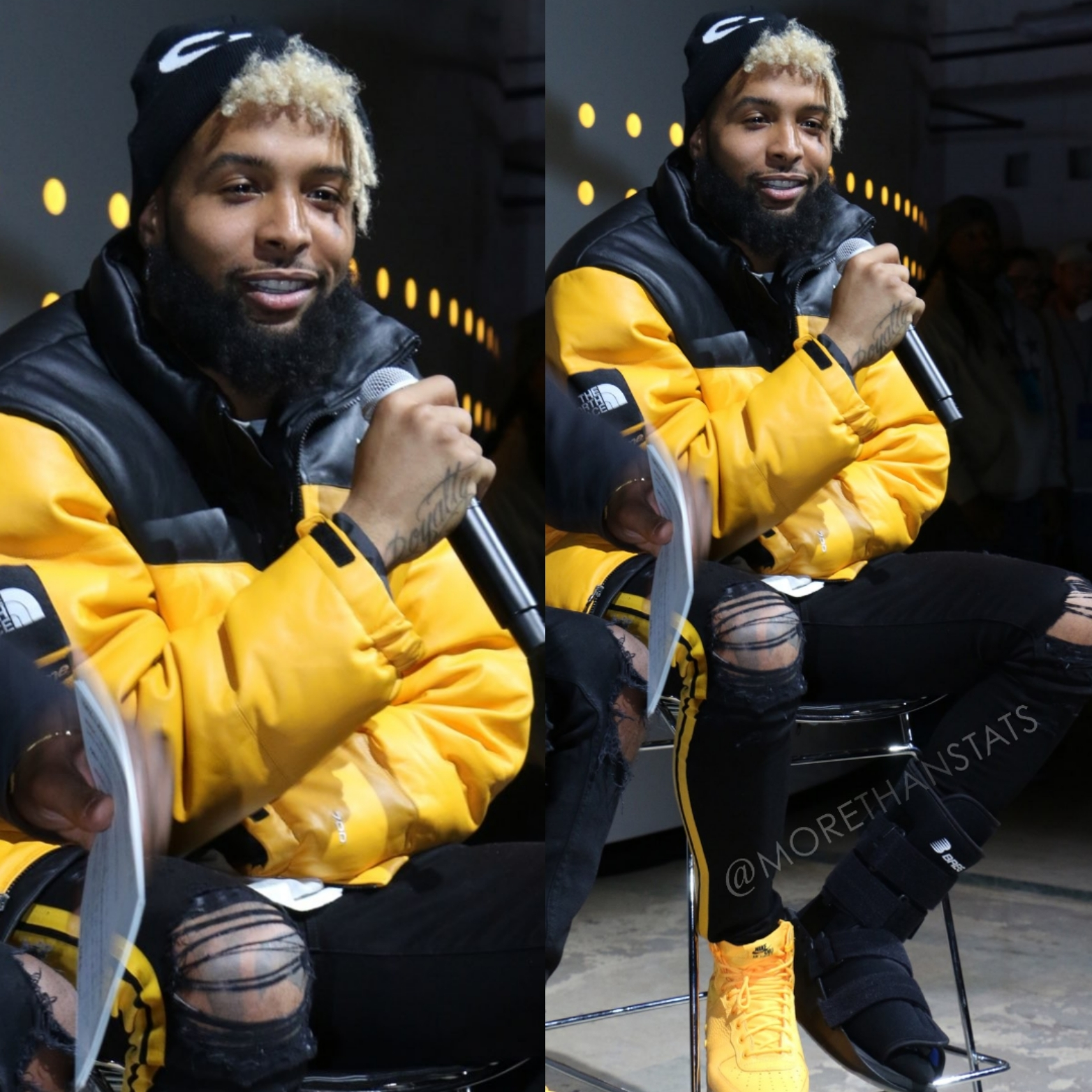 Odell Beckham Jr's OBJ x Nike SF-AF1 Sneaker Was Inspired By NYC Yellow Cabs