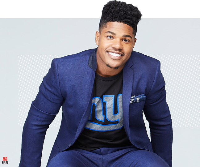 Sterling Shepard On His NFL Style Ambassador Role, And Fashion Influence