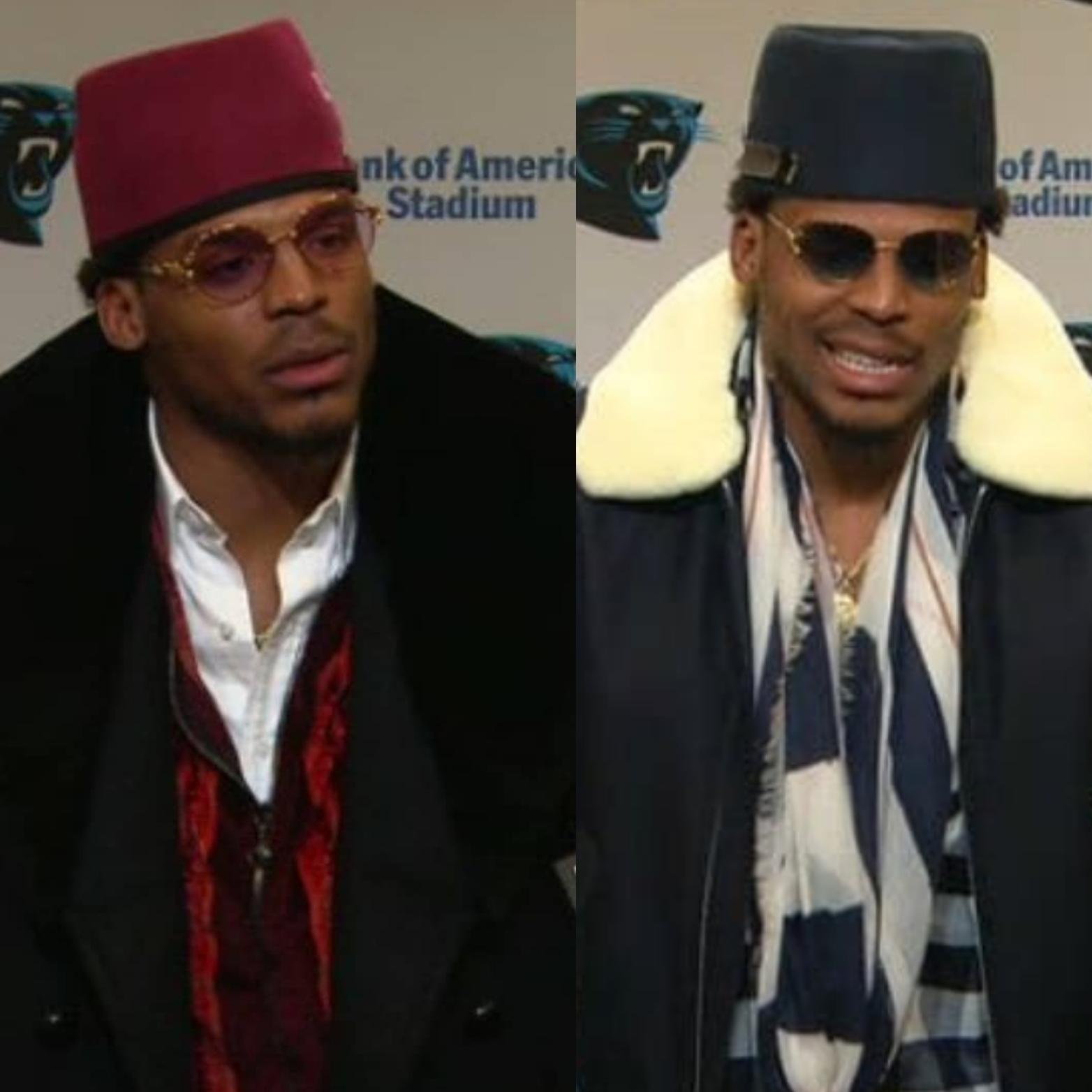 Cam Newton's Fez Style Hat Inspired By Andre 3000
