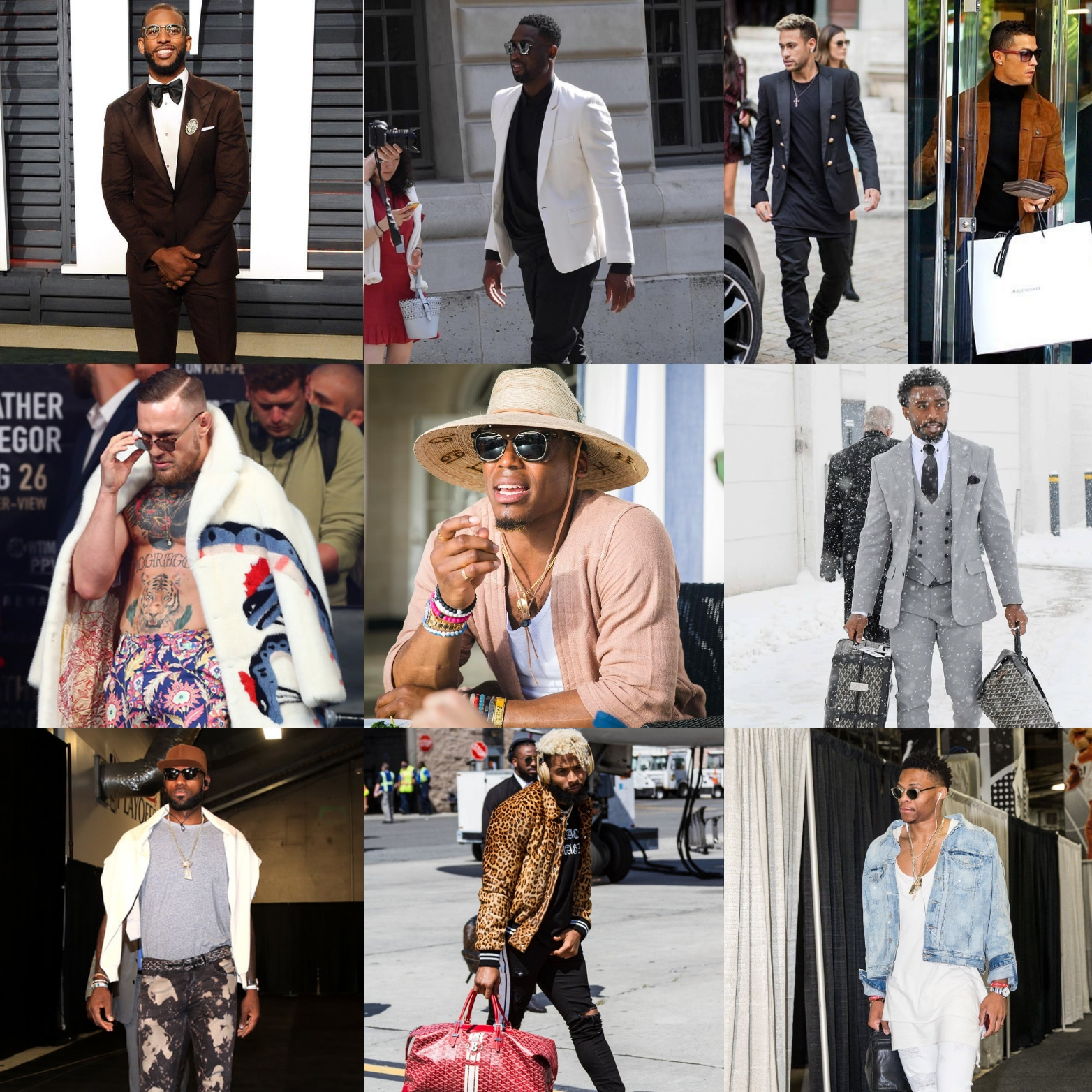 Best Of 2017: 10 Most Stylish Athletes Of The Year