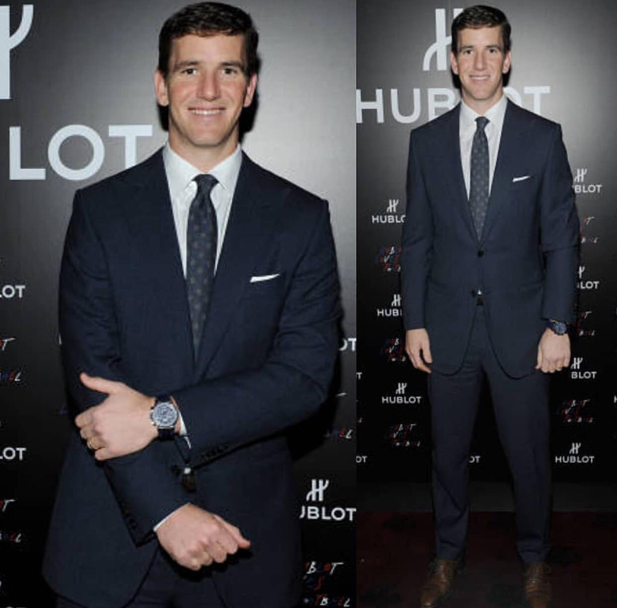 HUBLOT ANNOUNCES PARTNERSHIP WITH ELI MANNING QUARTERBACK OF THE NEW YORK GIANTS