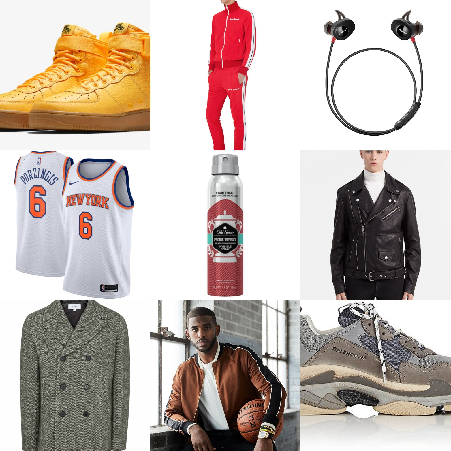 Men's Gift Guide: 17 Gifts For Men Who Love Sports & Fashion