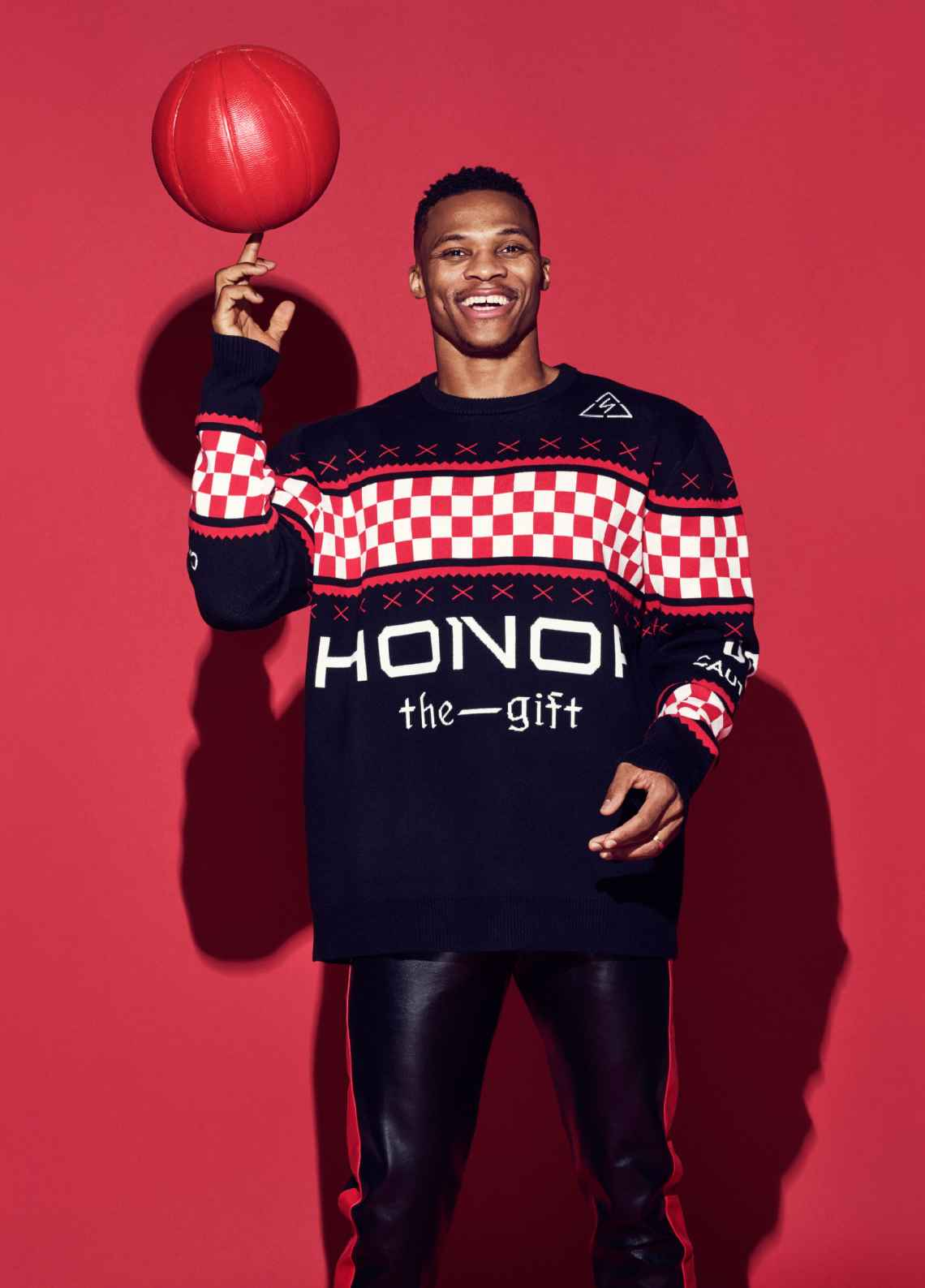 Russell Westbrook For ESPN Mag Holiday 2017 Issue