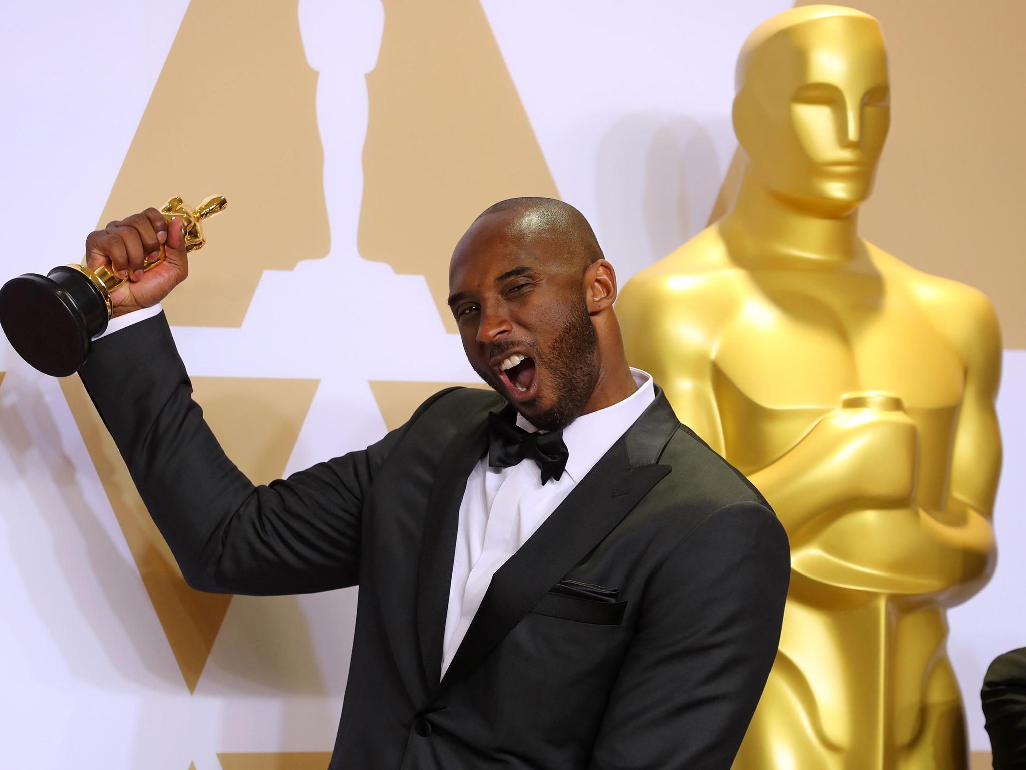Kobe Bryant's Oscar Will Sit Next To His 5 NBA Championships