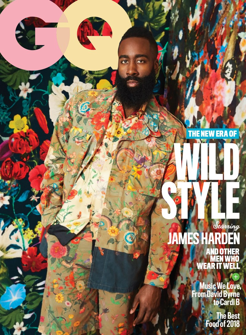 James Harden For GQ Magazine May 2018