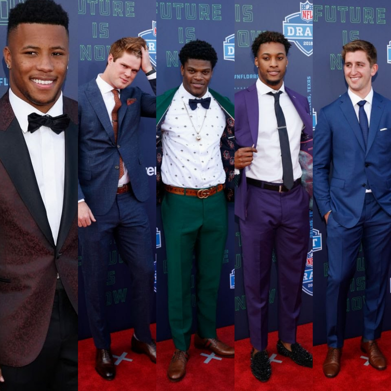 NFL Draft 2018 Fashion: Saquon Barkley, Josh Rosen, Lamar Jackson & More