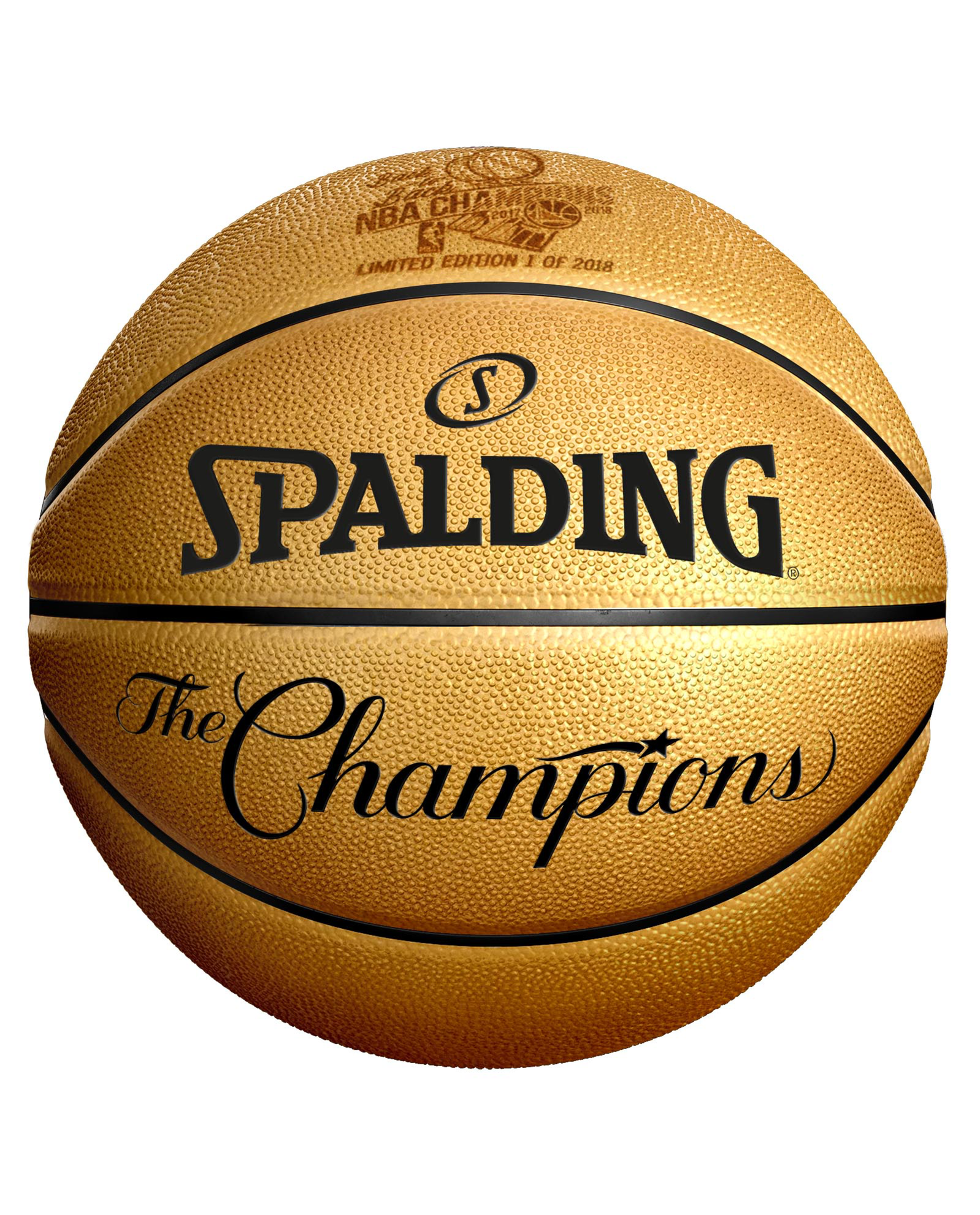 Spalding Releases Limited Edition Ball to Commemorate the Warriors Back-to-Back Championship Run