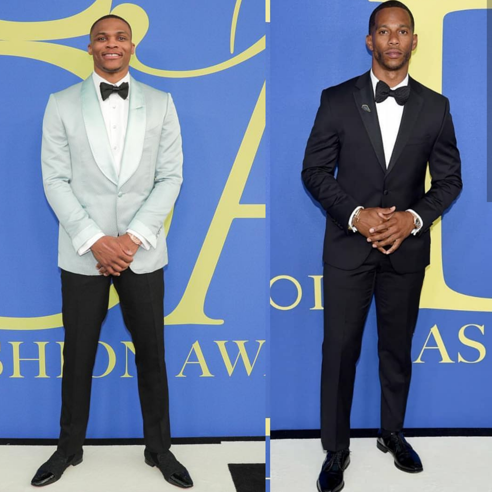 2018 CFDA Awards: Russell Westbrook & Victor Cruz Represented For The Athletes