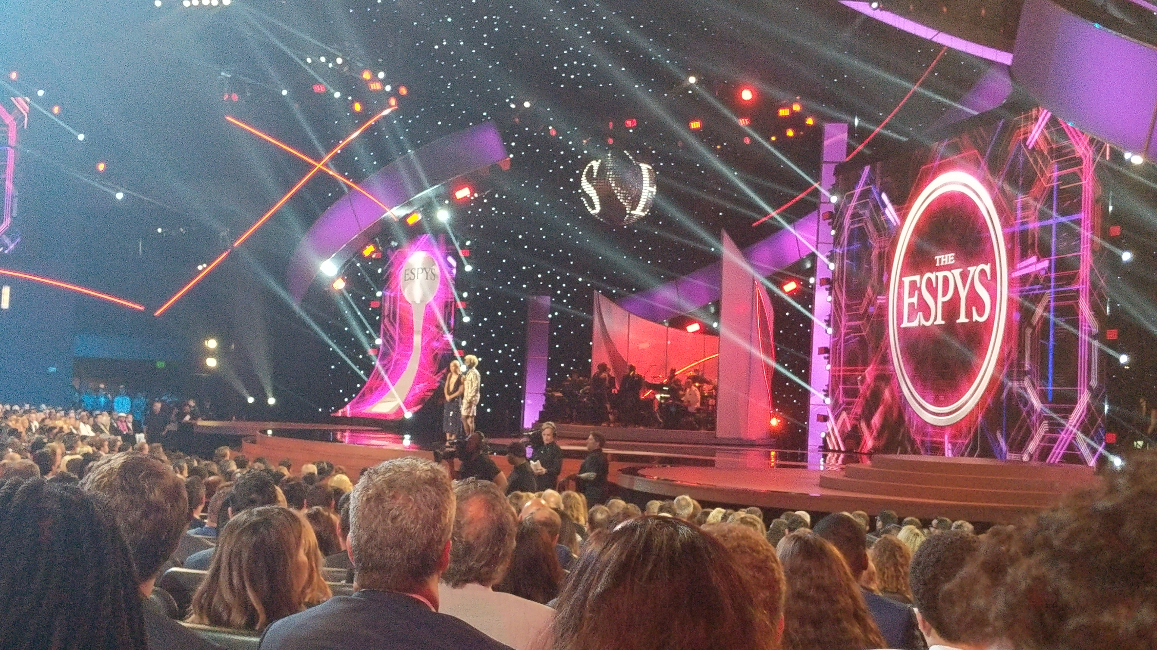 Inside The ESPYs 2018 And ESPN Sports Humanitarian Awards