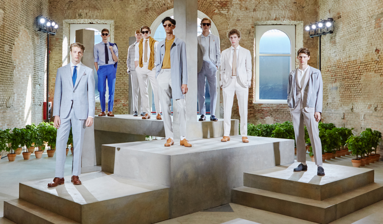 Canali Spring/Summer 2019 Menswear Collection