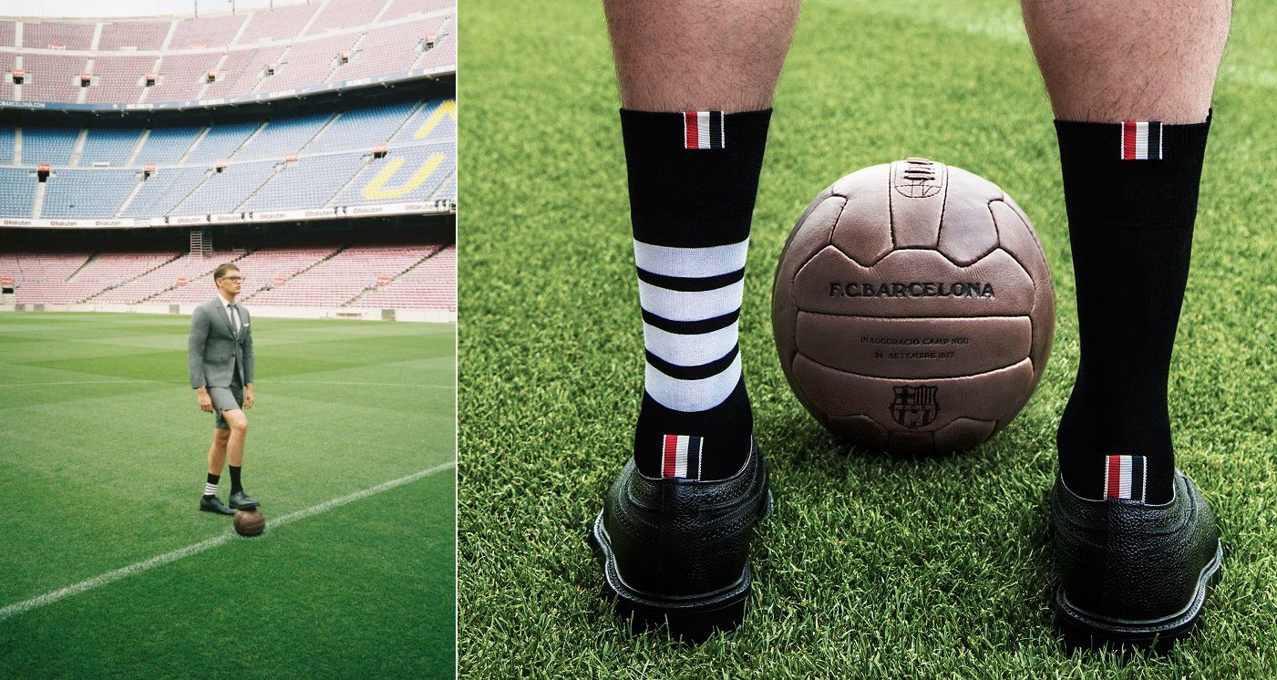 Thom Browne Named Official Formal Wear Partner of FC Barcelona
