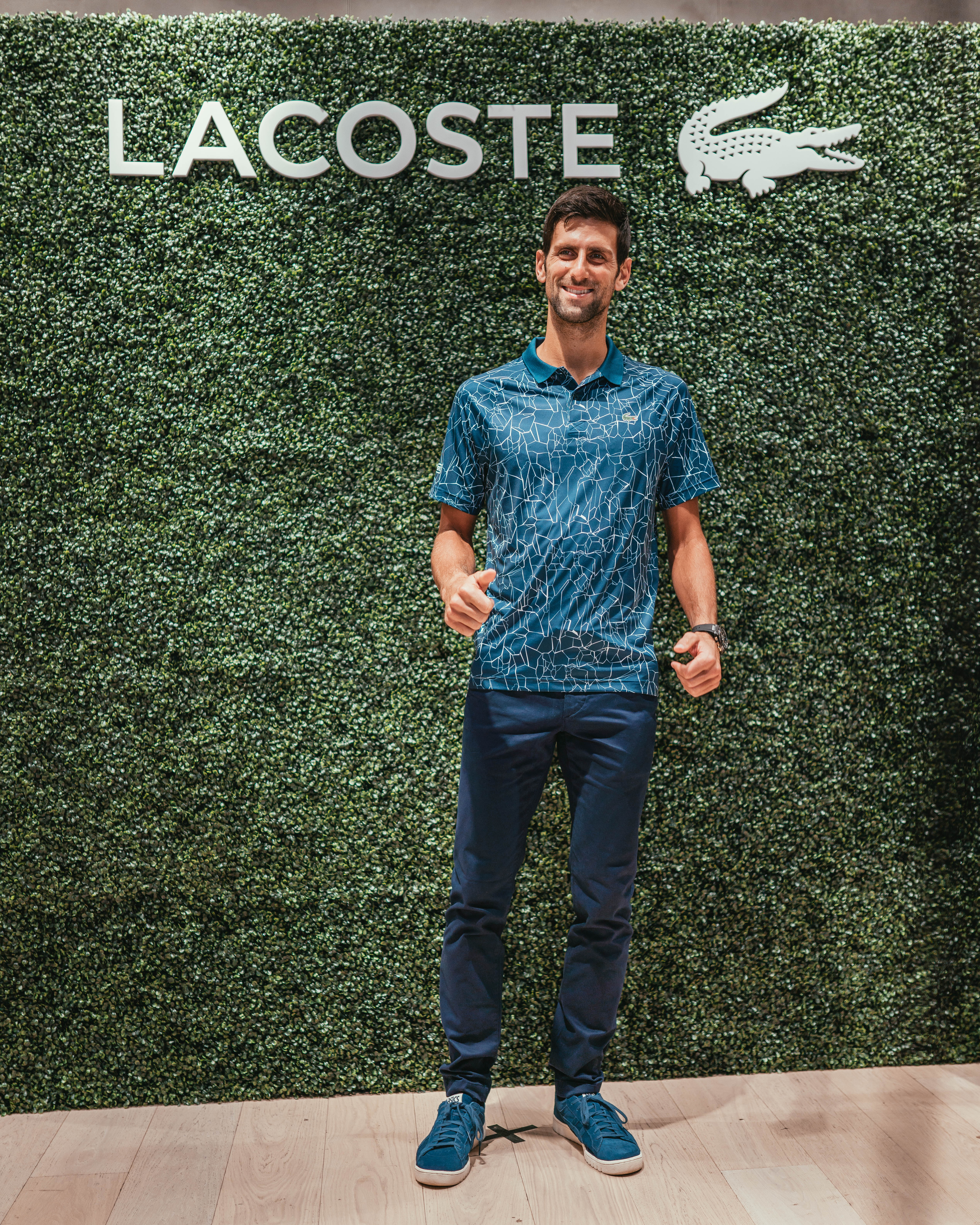 Lacoste & Novak Djokovic Celebrate New Fall/Winter 2018 Collection