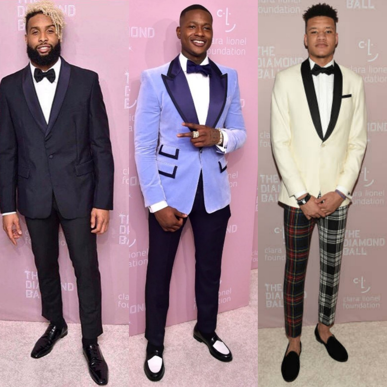 Diamond Ball 2018: Athletes Odell Beckham Jr, Terry Rozier & Kevin Knox Make An Appearance