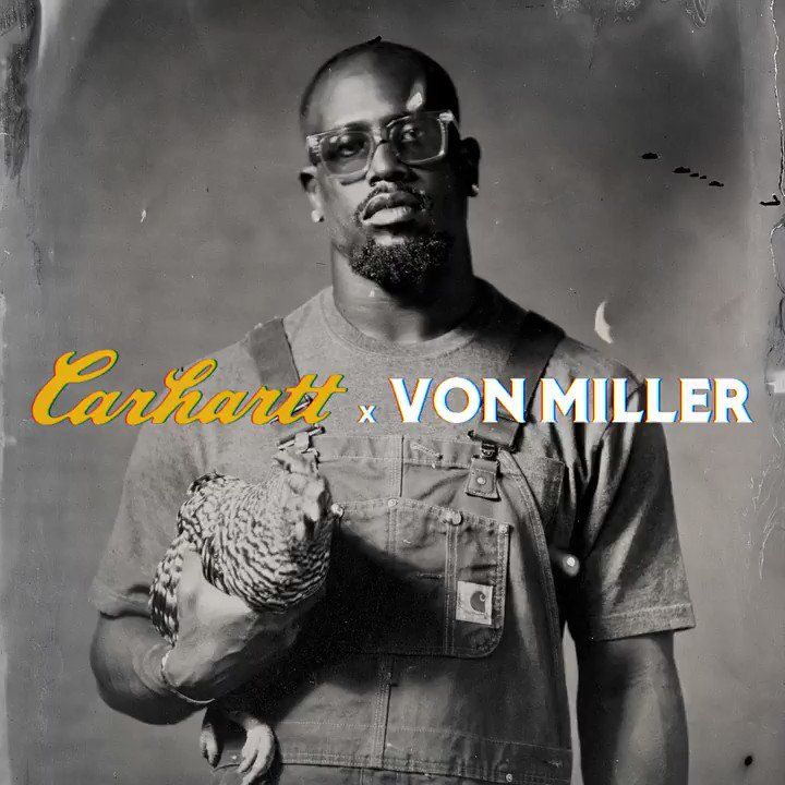 Von Miller Summons American Realism in Latest Collaboration with Carhartt