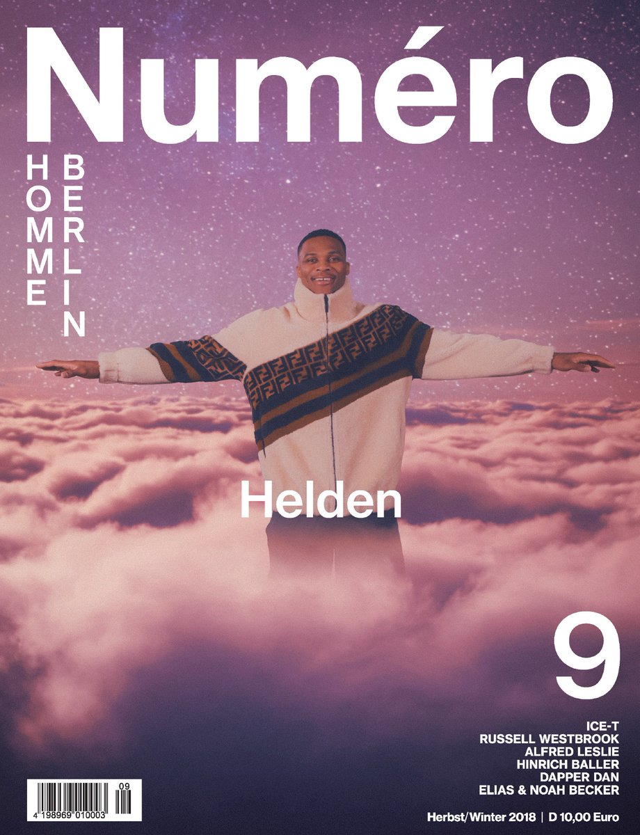 Russell Westbrook Covers Numero Homme Berlin International Magazine