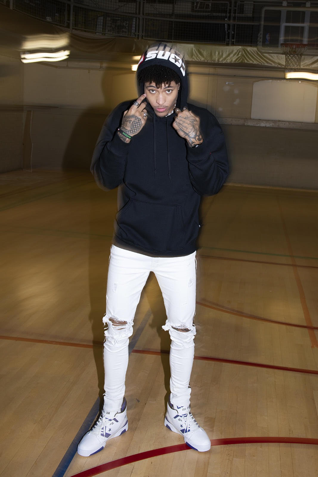 Kelly Oubre Jr. Seeks to Continue to Make Waves in the Fashion World With Converse Endorsement