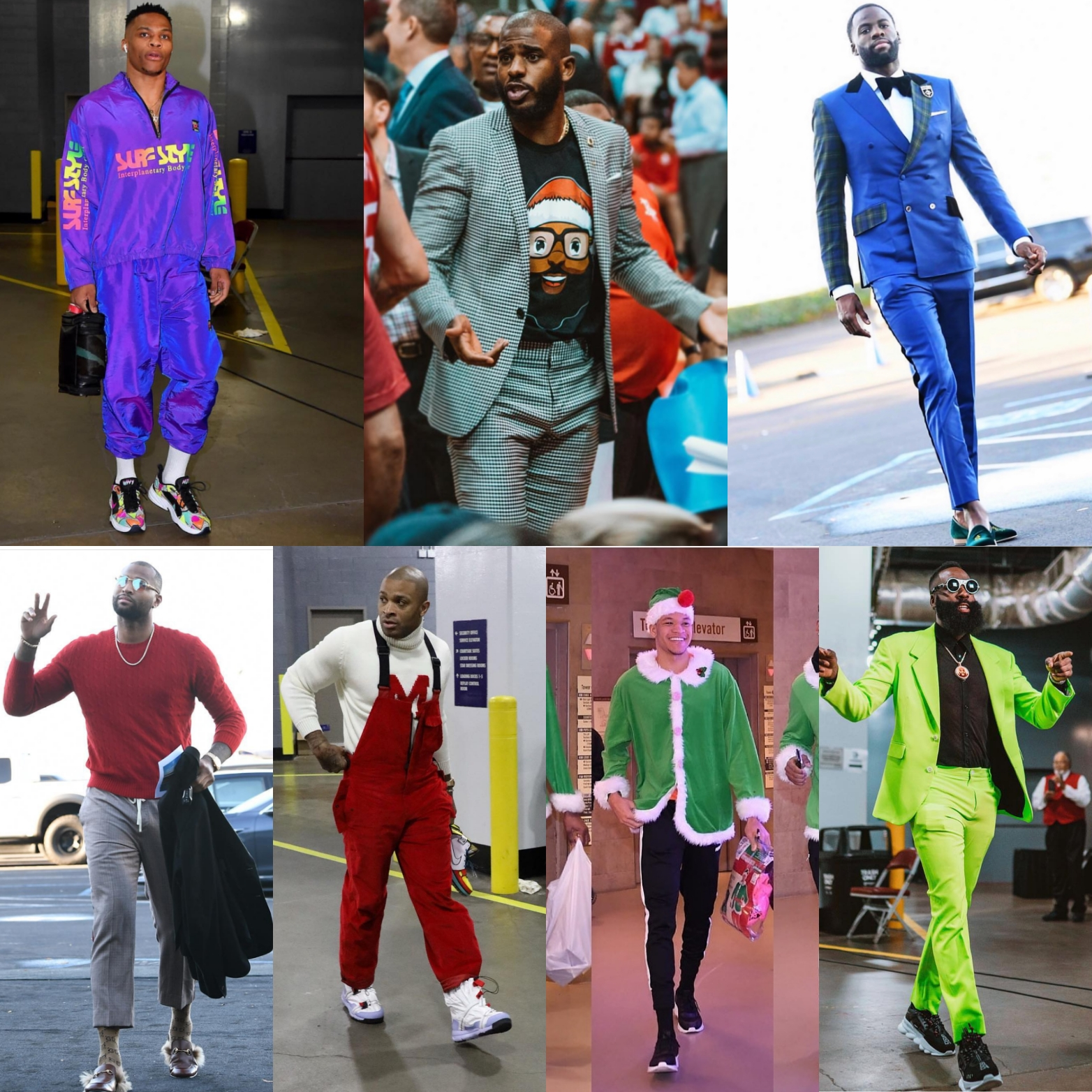 NBA Fashion: Christmas Day 2018