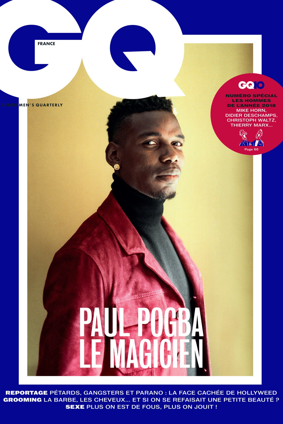 Paul Pogba For GQ France