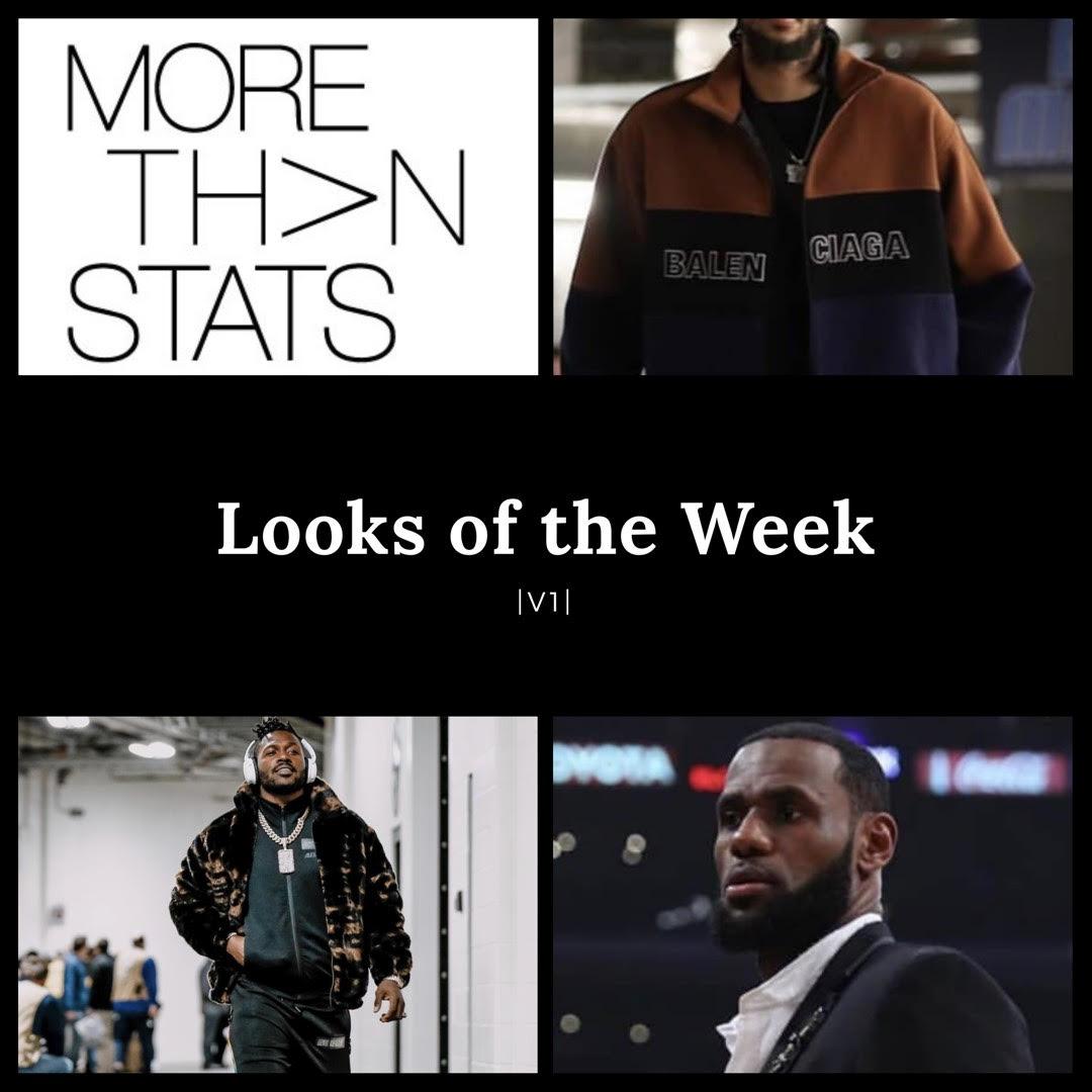 LOOKS OF THE WEEK: Lebron James, Antonio Brown, Brandon Ingram, James Harden & More.
