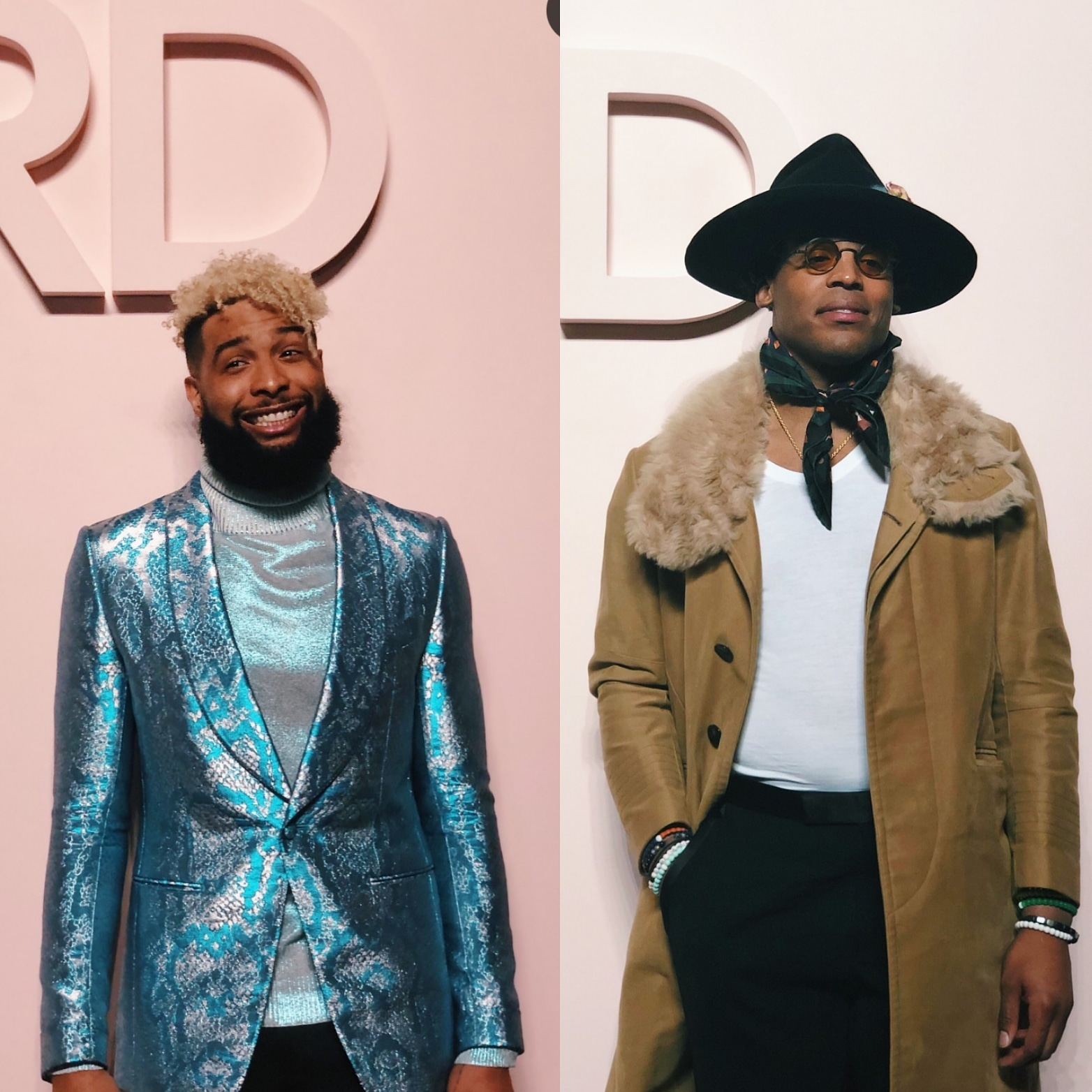 Tom Ford Fashion Show AW'19 Features Odell Beckham Jr & Cam Newton