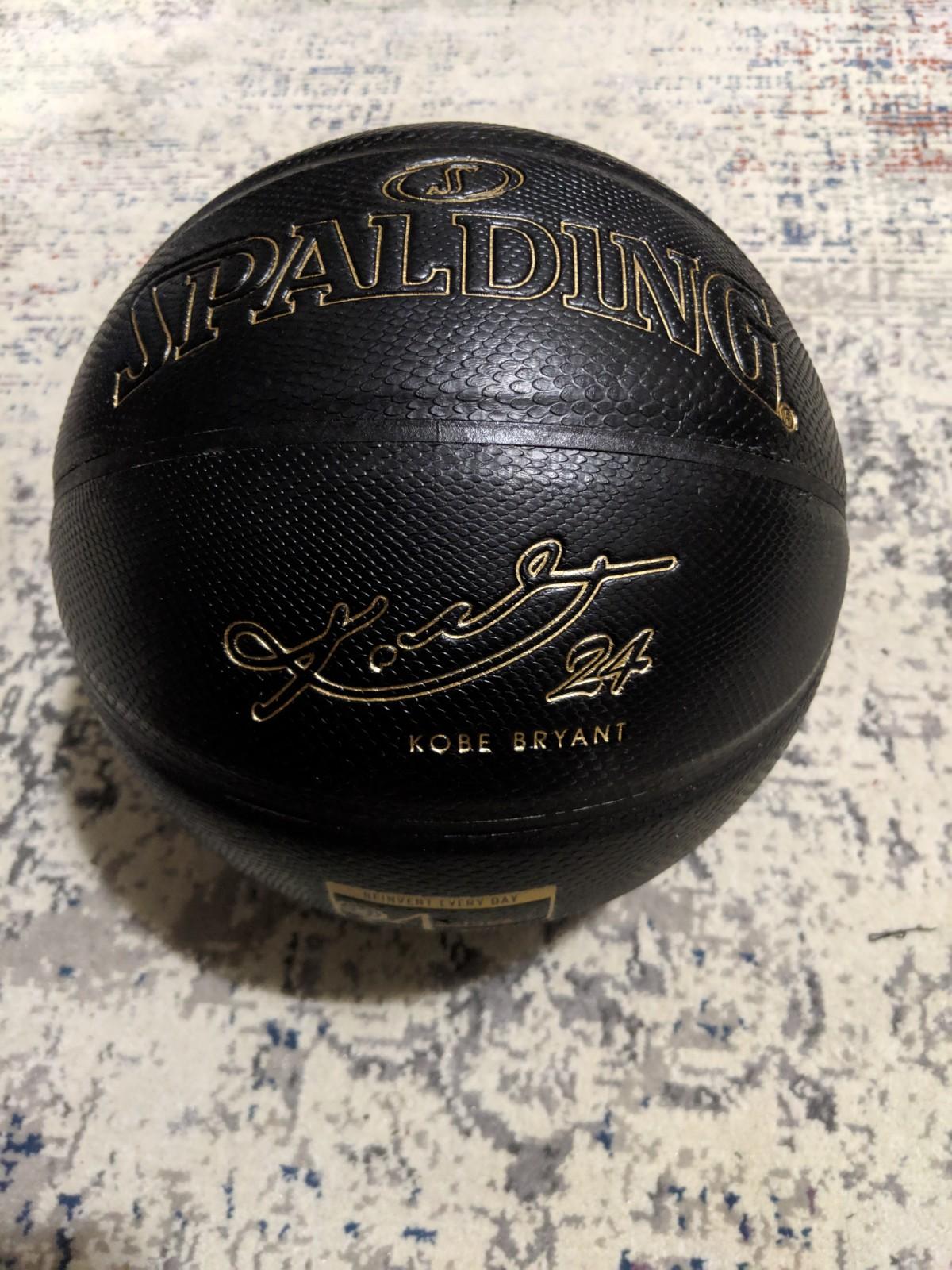 Spalding Debuts Kobe Bryant 24k Limited-Edition Basketball