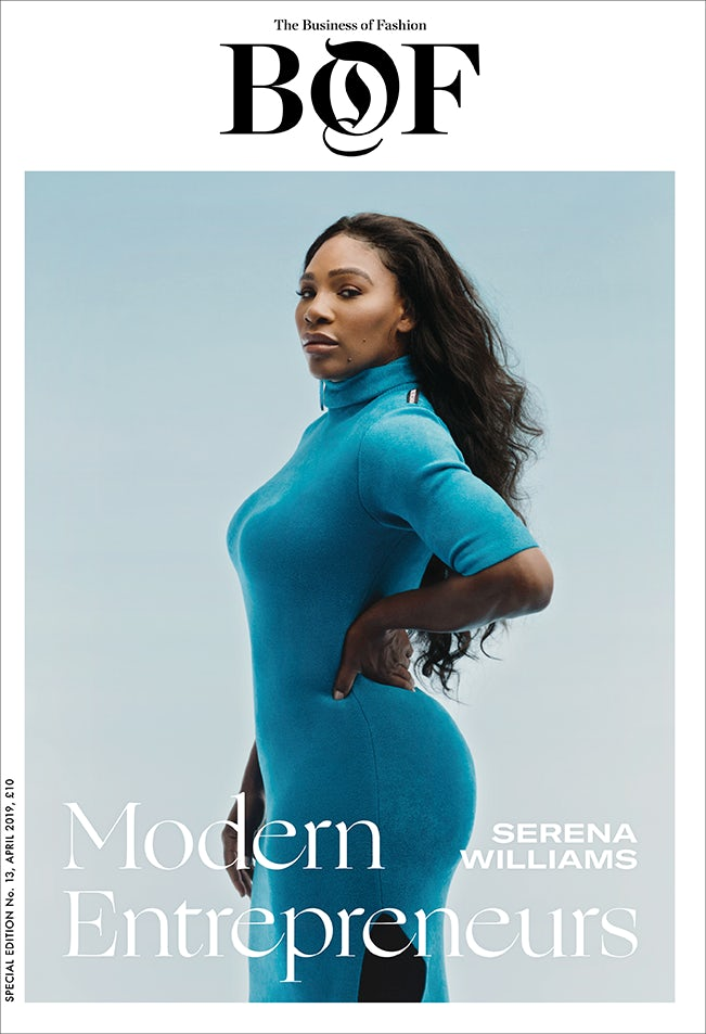 Serena Willams is Business Of Fashion Newest Cover Star