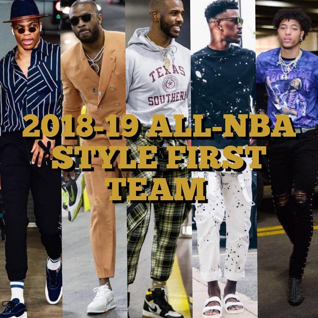 2019 All-NBA STYLE Teams