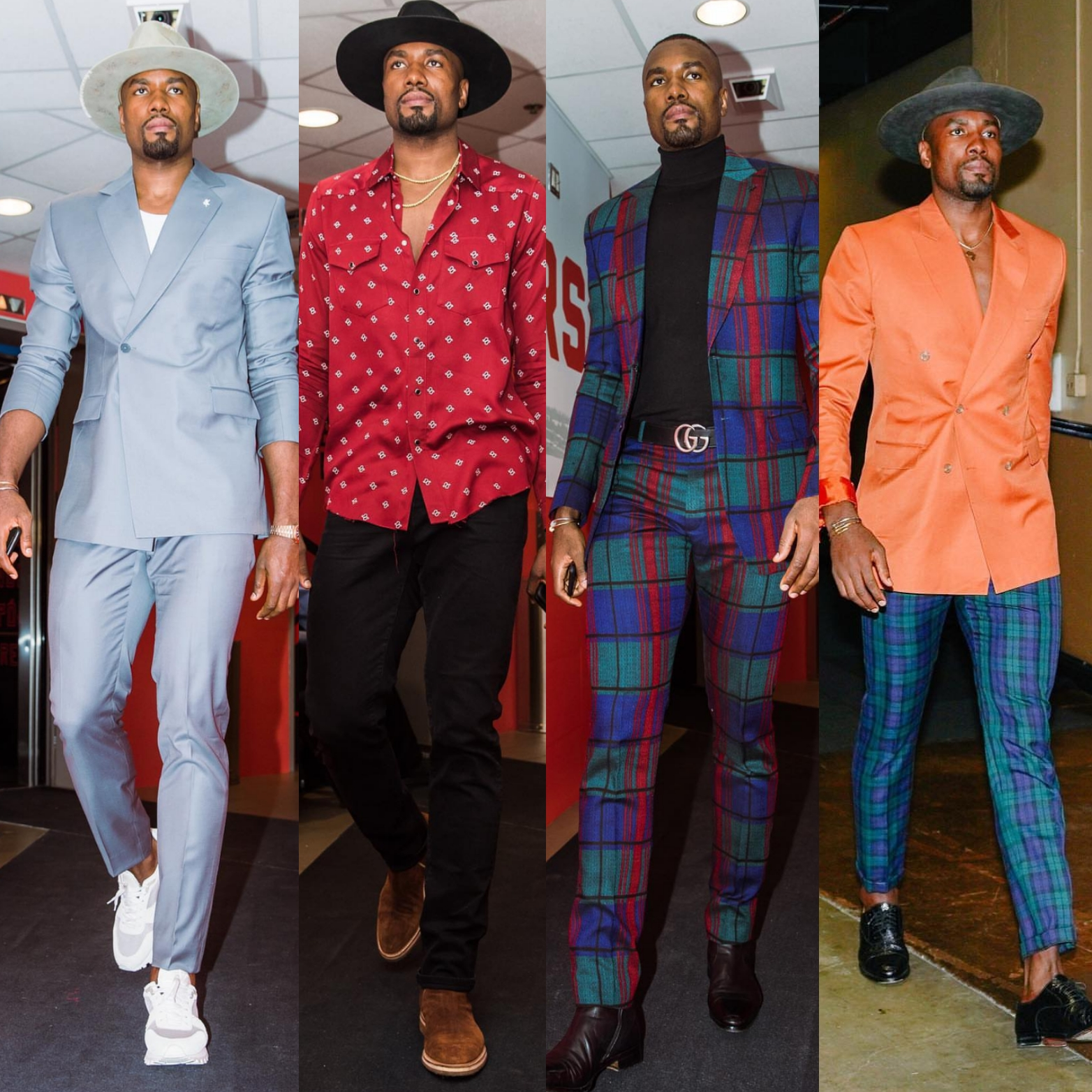 Serge Ibaka's NBA Finals Fashion Was FIRE!