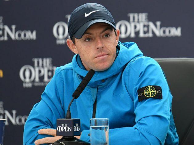 Rory McIlroy in Stone Island x Nike Jacket