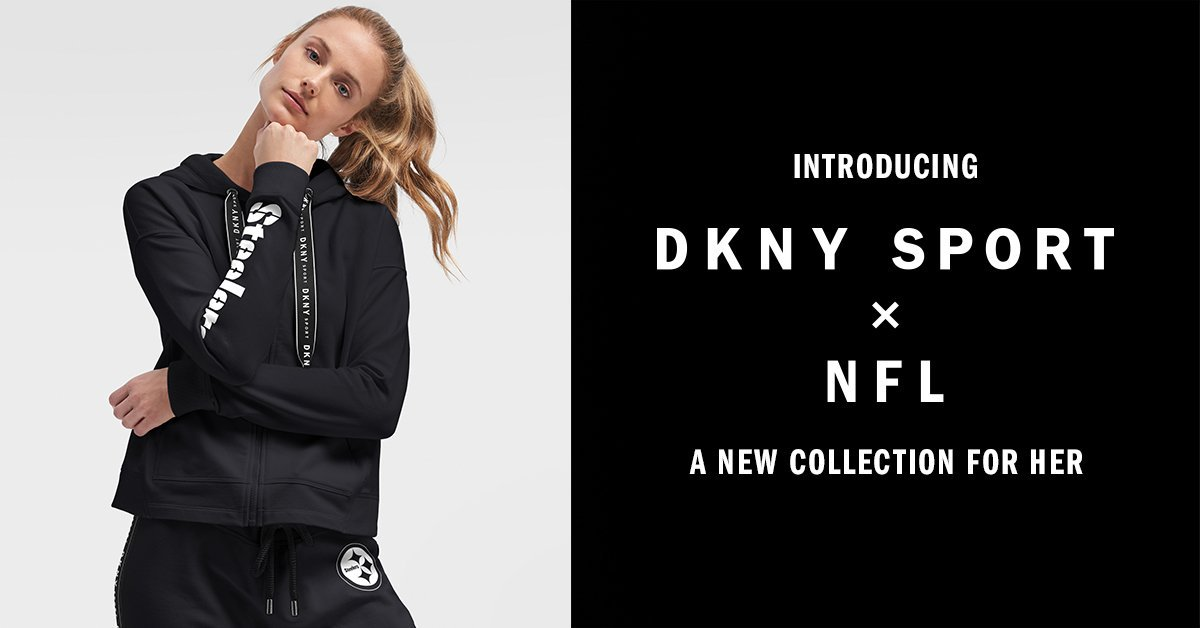 DKNY Drops Special Women's Collection For NFL's 100th Season