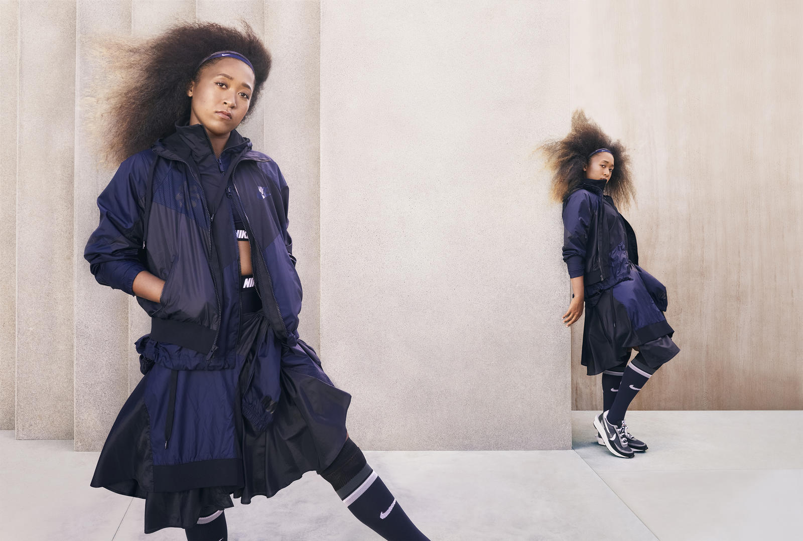 Royaume-Uni disponibilité 4e80f 72d98 Naomi Osaka For Nike x Sacai: Expresses her love for fashion ...
