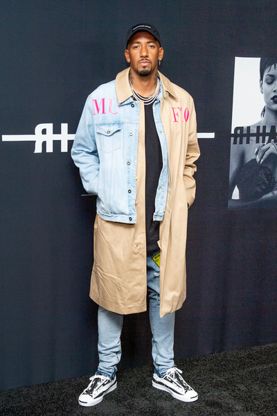 Jerome Boateng Attends Rihanna's Autobiography Launch Event.