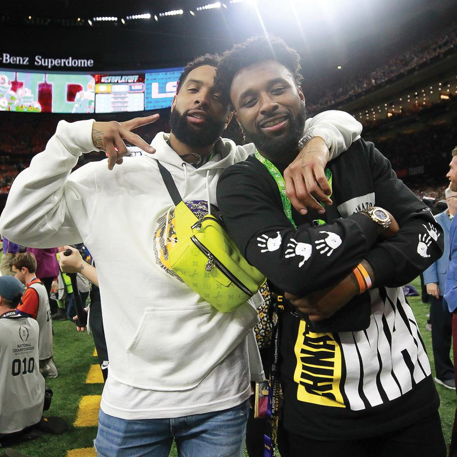LSU VS Clemson 2020 Brings Out Odell Beckham Jr, Jarvis Landry, Michael Thomas & More