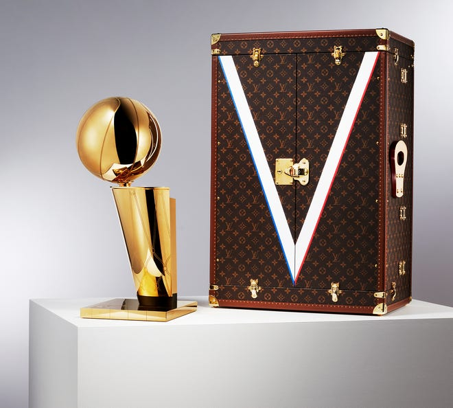 Louis Vuitton Will Design A travel case for The NBA Championship Trophy