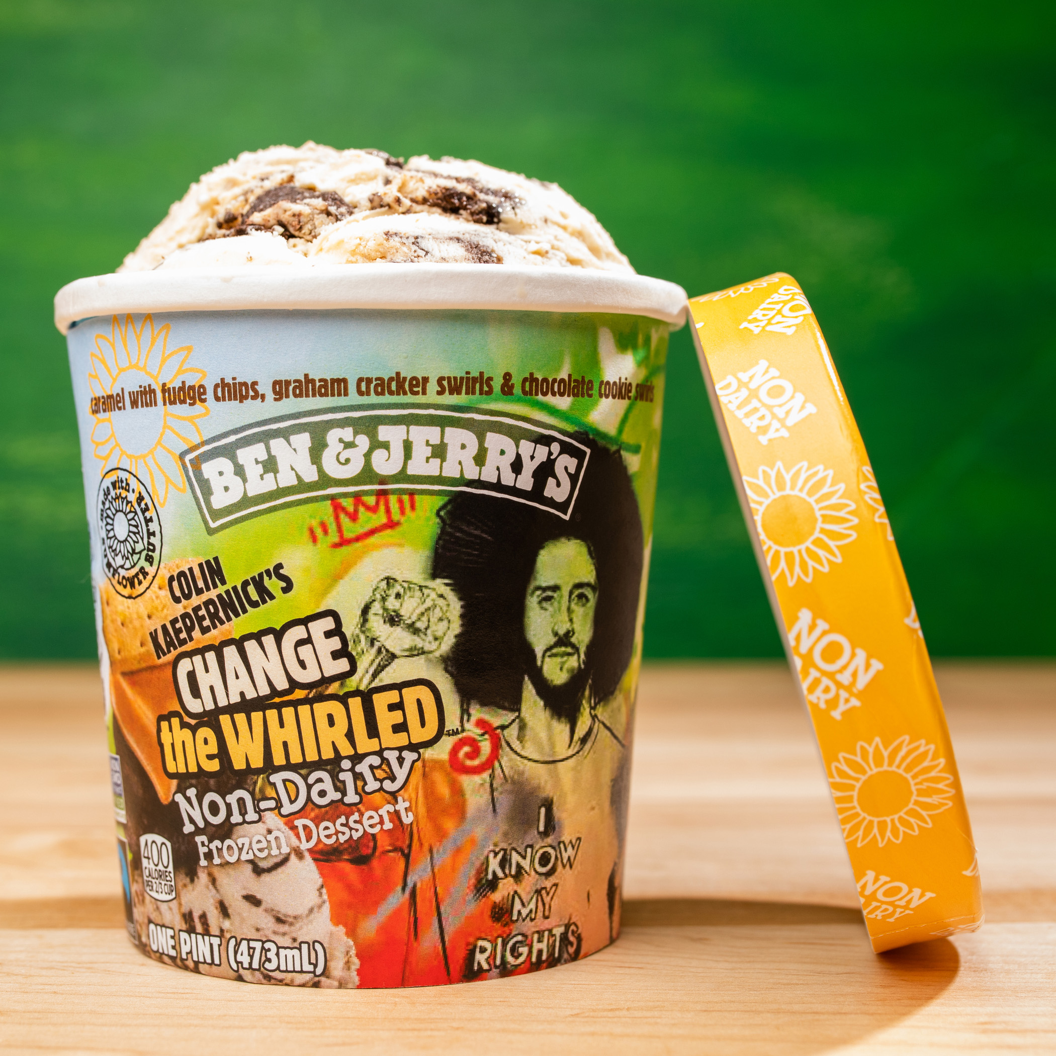 Colin Kaepernick and Ben & Jerry's Partner on Vegan Ice Cream For Great Cause
